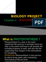 BIOLOGY PROJECT  KB