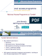 Julie Donnelly National Access Prog Tyndall