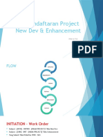 Flow Pendaftaran Project New DEV and Enhancement 2019