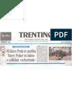 """""""Trentino"""" - 11 dicembre 2010 - pagina 1"""