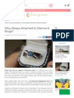 Why Always Attached to Diamond Rings (1)