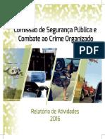 Relatório Anual - CPSPCCO (2016)