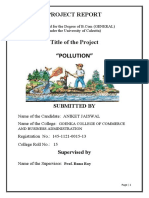 ready waterpollution project