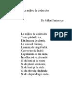 Mihai Eminescu - La mijloc de codru des.docx