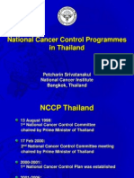 National Cancer Control Programmes in Thailand