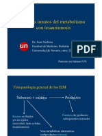 9. Errores Innatos Del Metabolismo II