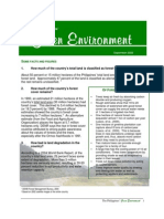 06-The Philippines' Green Environmen Facts and Figures Fact Sheet Green Environment 2