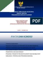 Koordinasi Kebijakan Nasional Lintas Sektor Penanggulangan Kanker