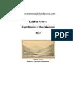 Espiritismo e Materialismo - Cairbar Schutel.pdf