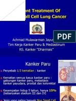 Current Treatment of Non Small Cell Lung Cancer