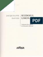 Razboiul Limonadei- Jacqueline Davies