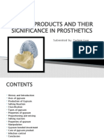 GYPSUM PRODUCTS AND THEIR significance IN PROSTHETICS.pptx