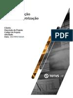 MIT043 - CODPROJETO - Especificação de Parametrização