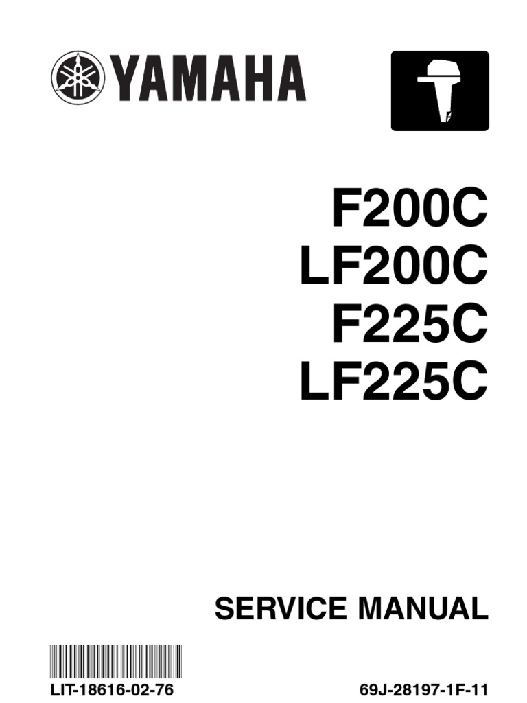 lit 18616 02 76 fuel injection piston rh scribd com 2006 Yamaha G22E Service Manual Yamaha Motorcycle Manuals