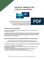 Business Plan Création d'entreprise
