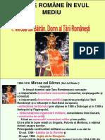 IX A, B, C, D, E istorie Mircea cel Bătrân