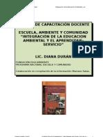 ESCUELA, AMBIENTE Y COMUNIDAD1