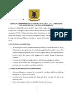 Detailed coronavirus plan by UPSA