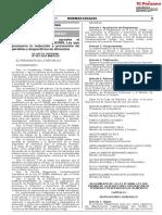 DECRETO SUPREMO N° 003-2020-MINAGRI