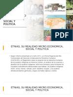ETNIAS, SU REALIDAD MICRO ECONOMICA, SOCIAL Y POLITICA 2