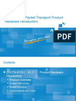 PTN 6110 Packet Transport Product Hardware Introduction