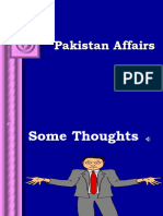 Pakistan Affairs Basic Lecture