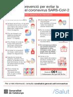 Infografia coronavirus salut