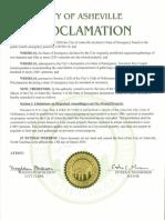AVL Coronavirus Declaration