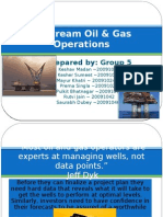 Upstream Oil & Gas Operations