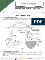 Devoir de Synthèse N°2 Avec correction - Technologie - Unite de moulage - Bac Technique (2019-2020) Mr Ben Aouicha.pdf