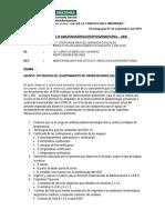 LEVANTAMIENTO DE OBSERVACIONES AEM