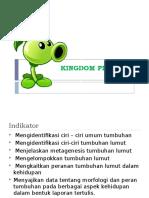 KINGDOM PLANTAE KELAS X - TUMBUHAN LUMUT.pptx