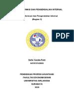Resume Sistem Informasi dan Pengendalian Internal  Chapter 6