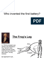 Who Invented the First Battery