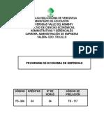 Copia de ECONOMIA DE EMPRESAS