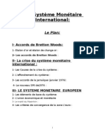 16164418 Le Systeme Monetaire International[1]