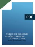 Analisis y plan de mejoramiento II P, 10° - 2018 si.docx