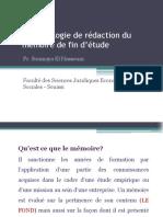Méthodologie de rédaction du mémoire (2)