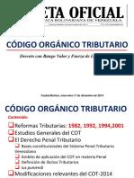 COMENTARIOS CODIGO ORGANICO TRIBUTARIO
