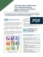 TEMA 13. AUTOMATIZACIÓN DE OFICINA. HERRAMIENTAS OFIMÁTICAS Y PAQUETES INTEGRADOS. HERRAMIENTAS OFIMÁTICAS DE USO COMÚN.pdf