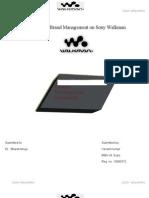 Brand Management of Sony Walkman