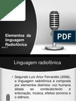 Mídias radiofônicas - aula 2PDF