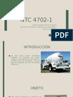 Ntc 4702-1 EXPOCISIÓN
