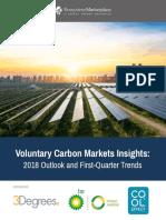 Voluntary Carbon Markets Insights