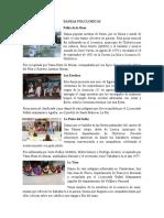 Danzas, leyendas, tradiciones y costumbres de Honduras