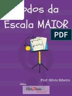 Ebook modos da Escala Maior - Silvio Ribeiro