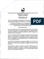 RESOLUCION 004 MODIFICACION CALENDARIO ACADEMICO II-2019