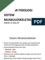 OTOT RANGKA( muskuloskeletal )