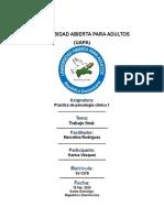 Trabajo Final Práctica de Psicología Clínica 1.