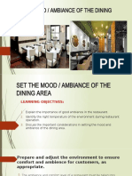 SET THE MOOD lesson 6